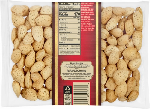 Private Selection® In-Shell California Almonds Perspective: back