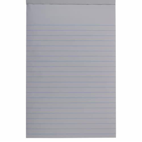 Office Works Ruled All Purpose Writing Tablet - 100 Sheets Perspective: back