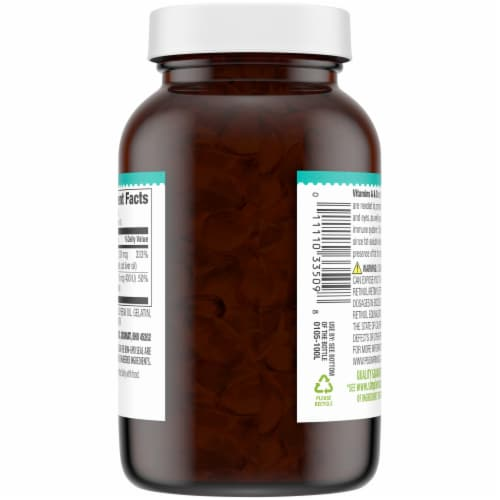 Simple Truth® Vitamin A & D Softgels Perspective: back