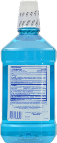 Kroger® Antiseptic Blue Mint Mouth Rinse Perspective: back