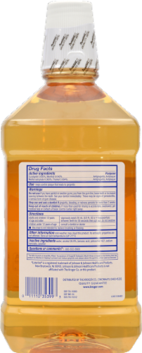 Kroger® Original Antiseptic Mouth Rinse Perspective: back