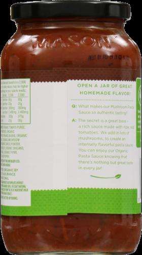 Simple Truth Organic™ Mushroom Pasta Sauce Perspective: back