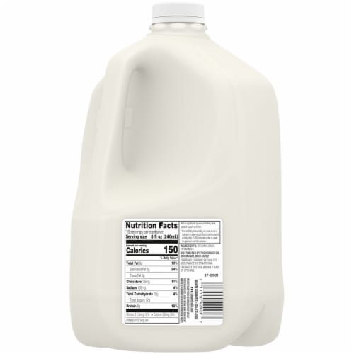 Simple Truth Organic® Whole Milk Perspective: back