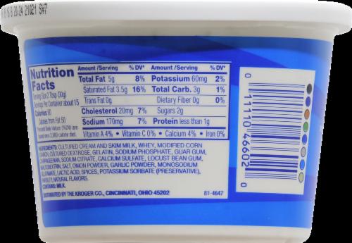 Kroger® Ranch Sour Cream Dip Perspective: back