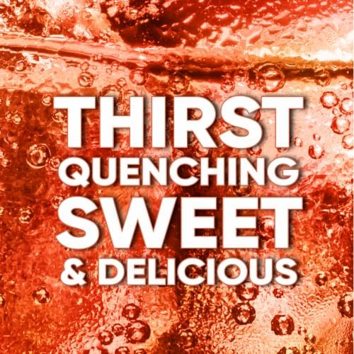 Big K® Peach Soda Perspective: back
