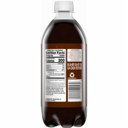Big K® Root Beer Soda Perspective: back
