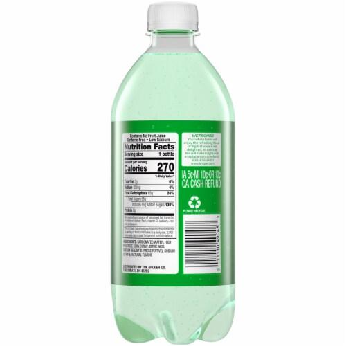 Big K® Lemon Lime Soda Perspective: back