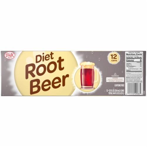 Big K® Diet Root Beer Perspective: back
