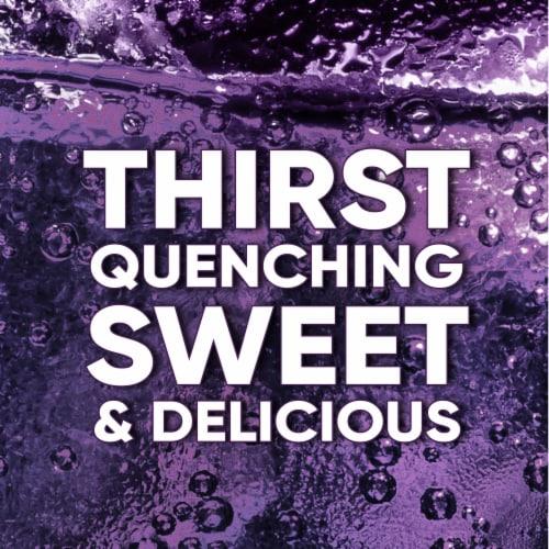 Big K® Caffeine Free Grape Soda Perspective: back