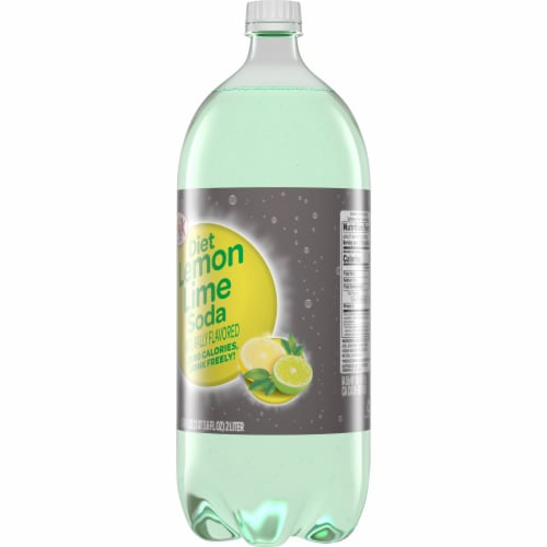 Big K® Diet Lemon Lime Soda Perspective: back
