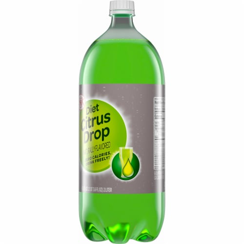 Big K® Diet Citrus Drop Soda Perspective: back