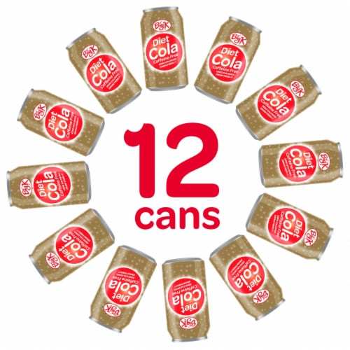 Big K® Caffeine Free Diet Cola Perspective: back