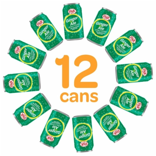 Big K® Ginger Ale Soda Perspective: back