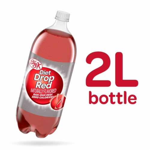 Big K® Diet Drop Red Soda Perspective: back