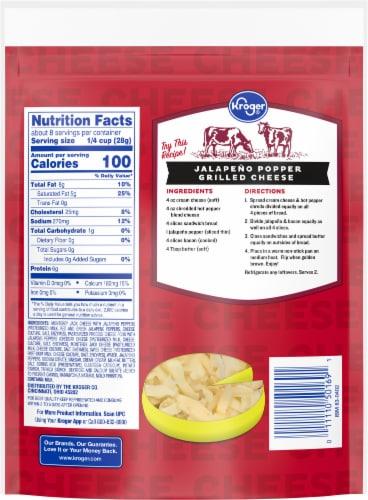 Kroger® Shredded Hot Pepper Blend Cheese Bag Perspective: back