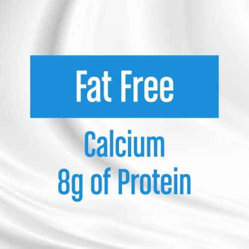 Kroger® Fat Free Skim Milk Bottle Perspective: back
