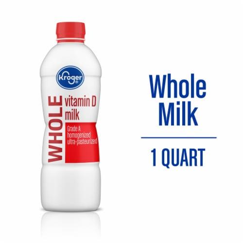 Kroger® Vitamin D Whole Milk Perspective: back