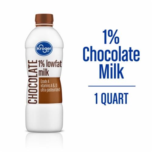 Kroger® Lowfat Chocolate Milk Perspective: back