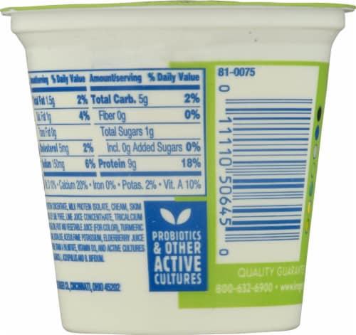 Kroger® CarbMaster® Key Lime Cultured Dairy Blend Yogurt Perspective: back