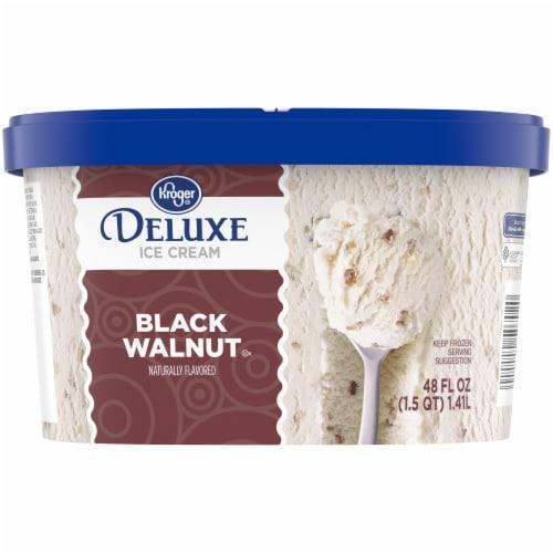 Kroger® Deluxe Black Walnut Ice Cream Perspective: back