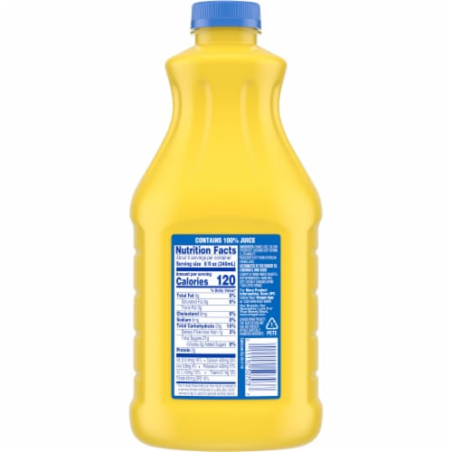 Kroger® 100% Orange Juice with Calcium Perspective: back
