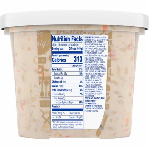Kroger® Traditional Macaroni Salad Perspective: back