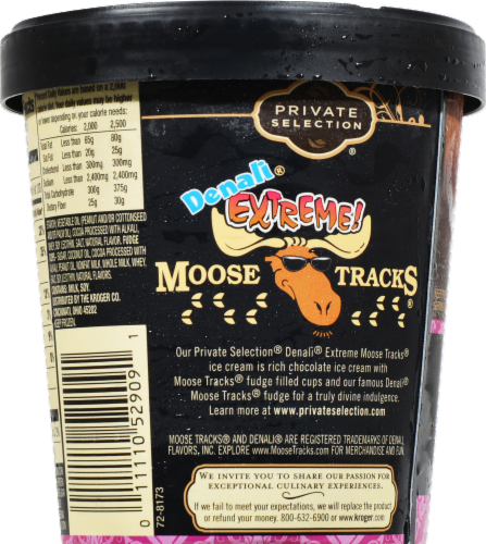Private Selection® Denali® Extreme Moose Tracks® Ice Cream Perspective: back