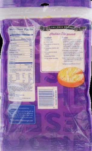 Kroger® Finely Shredded Cheddar Jack Cheese Perspective: back