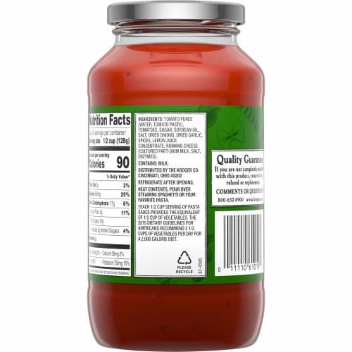 Zia Italiana Tomato Basil Pasta Sauce Perspective: back
