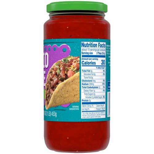 Kroger® Mild Taco Sauce Perspective: back