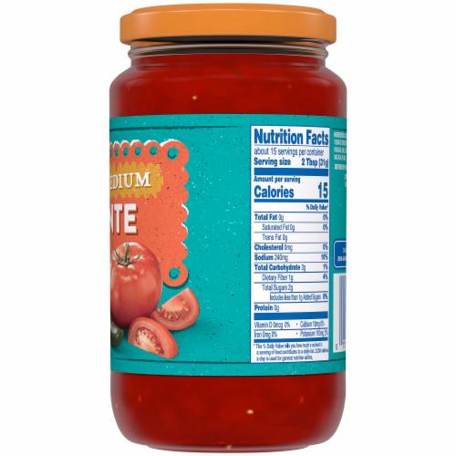 Kroger® Medium Picante Sauce Perspective: back