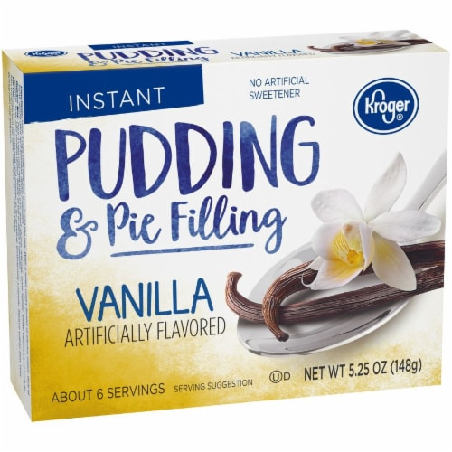 Kroger® Vanilla Instant Pudding & Pie Filling Perspective: back