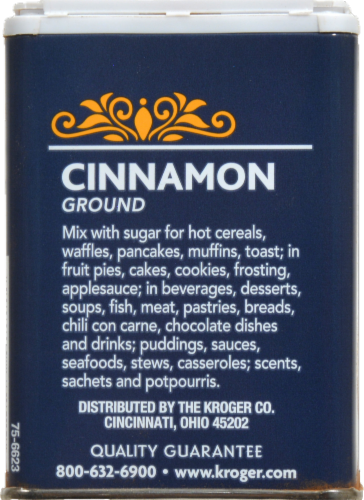 Kroger® Ground Cinnamon Perspective: back