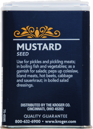 Kroger® Mustard Seed Perspective: back