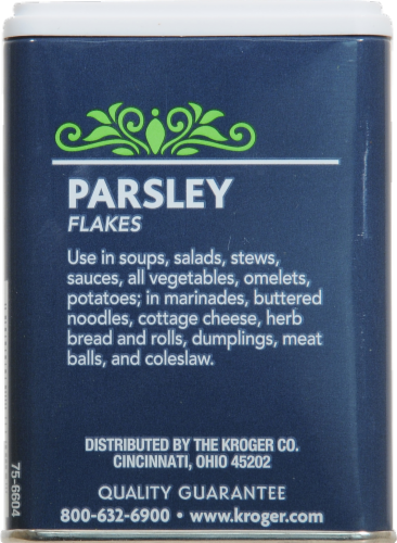 Kroger® Parsley Flakes Perspective: back