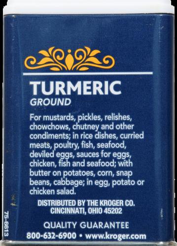 Kroger® Ground Turmeric Perspective: back