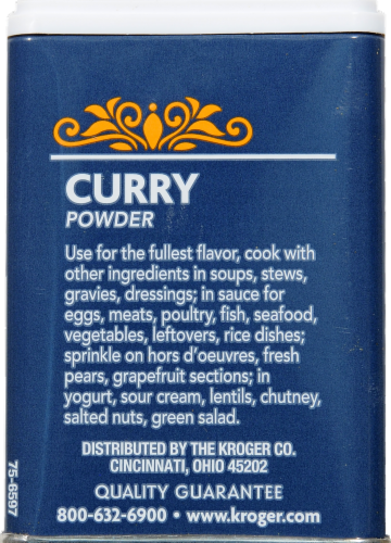 Kroger® Curry Powder Perspective: back