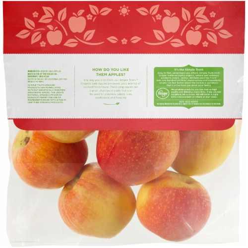 Simple Truth Organic™ Gala Apples Pouch Perspective: back