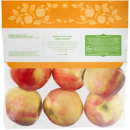 Simple Truth Organic™ Honeycrisp Apples Perspective: back