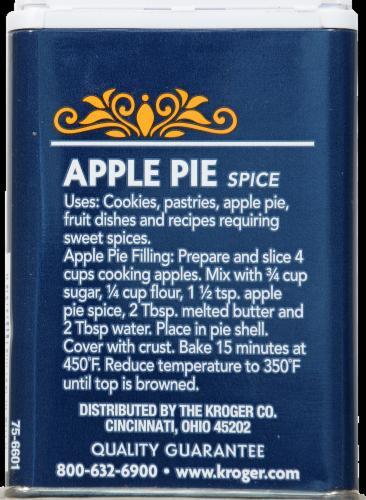 Kroger® Apple Pie Spice Perspective: back
