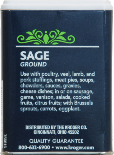 Kroger® Ground Sage Perspective: back