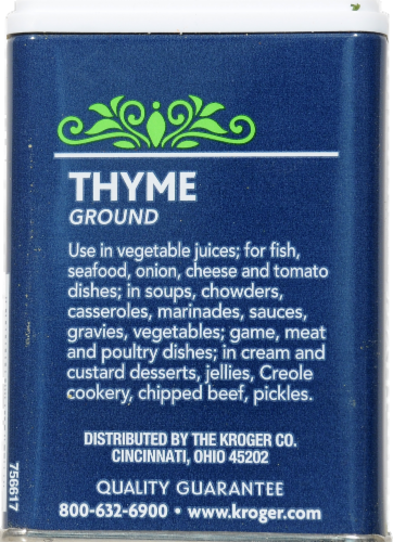 Kroger® Ground Thyme Perspective: back