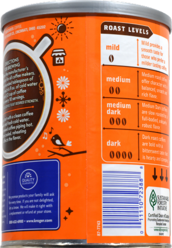 Kroger® Breakfast Blend Mild Roast Ground Coffee Perspective: back