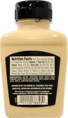 Private Selection® French Dijon Mustard Perspective: back