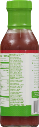 Simple Truth Organic™ Lite Raspberry Vinaigrette Perspective: back