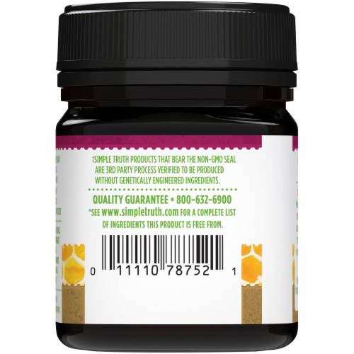 Simple Truth® Monofloral Raw Manuka Honey Perspective: back