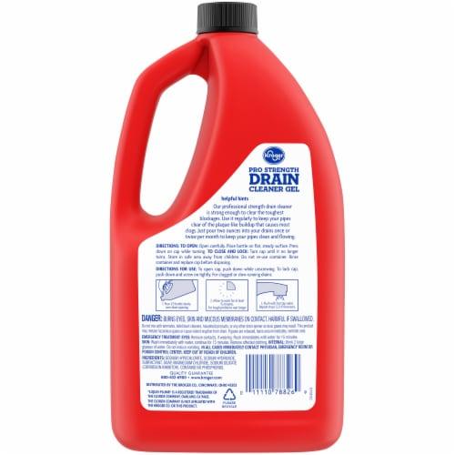 Kroger® Pro-Strength Drain Cleaner Gel Perspective: back