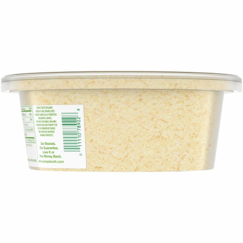 Simple Truth Organic® Grated Parmesan Cheese Perspective: back