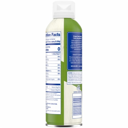 Kroger® Non-Stick Extra Virgin Olive Oil Cooking Spray Perspective: back