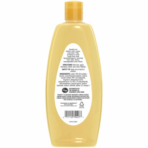 Comforts® Baby Shampoo Perspective: back
